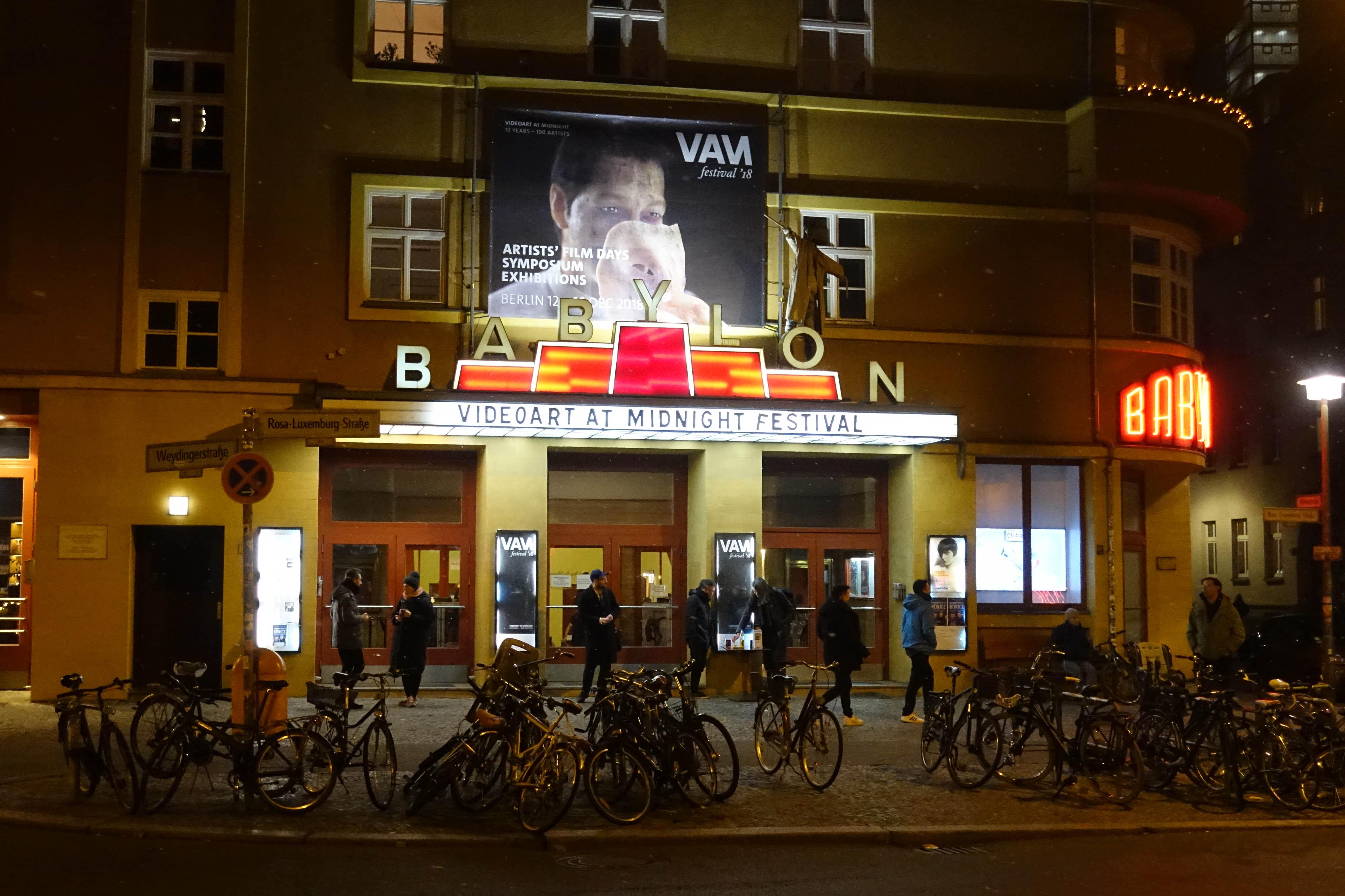 Videoart at Midnight Festival, Berlin 2018